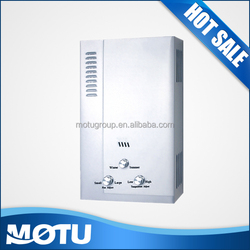 CKD portable gas water heater with temperature controller