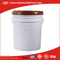 packaging and storage Usage and Bucket Type Great Quality Large Capacity Plastic Barrel 20L Plastic Bucket