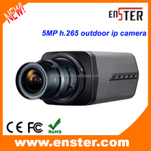 5 mp H.265 ip camera outdoor ip camera onvif p2p function autofocus lens