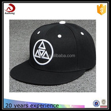 custom simple plain men black cheap hats men cap snapback cap wholesale cap