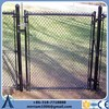 Black heavy duty chain link fencing