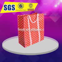 PP non woven baby changing bag with full color print
