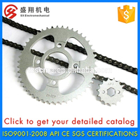 Factory Wholesale 3.30 MM Diameter Colored Motorcycle Chain Sprocket Price