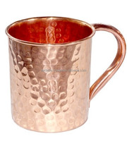Whole sale low cost hammered copper mug