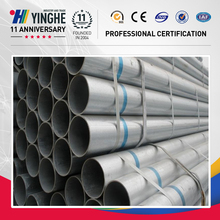 high quality astm a53/a106 gr.b schedule 40 galvanized steel pipe for sale
