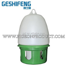 Plastic Pigeon Poultry Feeder,Water drinker and dispenser green,white color, 1.5L,2.5L,3.5L,4.5L,5.5L,6.5L,7.5L,8L,10L