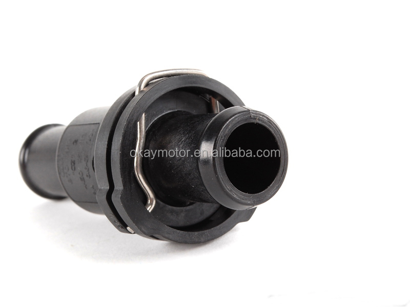 vw beetle thermostat housing location