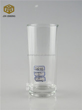 Long glass drinking water cup,juice glass mug
