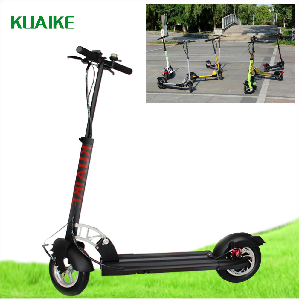 Best seling foldable folding electric mini portable for Fold up scooters motorized