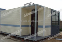 Workshop preformed with light and electricity low cost prefab container house