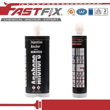 Bulk epoxy resin adhesive for concrete and metal chemical mortar anchor