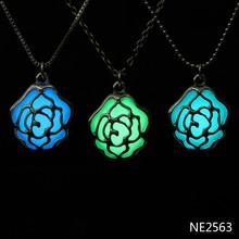 fashion jewelry 2015 statement necklace, in the dark glow necklace, fashion necklace
