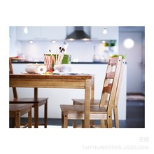 Dining table and dining chairs solid wood table and chair dining set