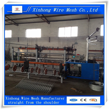 chain link fence machine from real factory