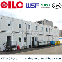 prefabricated house for accommodation, tempory living, office, modular container house