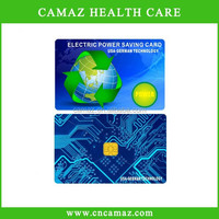 manufacturer price customized electricity saving Card with above 5000cc ions