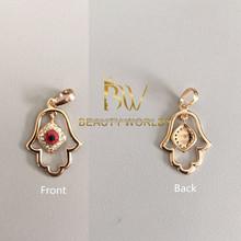 Wholesale Fashion gold jewelry Hamsa pendant necklace pendant charm
