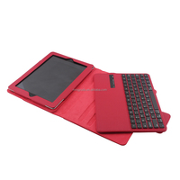 3.0 ABS removable wireless bluetooth keyboard for ipad234 storage case