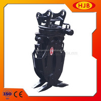 High Performance Hydraulic 360 Degree Rotating Grapple, Hydraulic Grab for Excavator