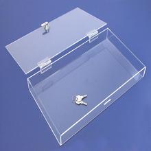 acryl box mit schloss werbeaktion online einkauf f r acryl box mit schloss sonderangebote. Black Bedroom Furniture Sets. Home Design Ideas