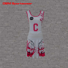 Profesional personalizada diseño Netball uniformes de tenis de los deportes
