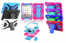 Extreme tough duty snow sand dirt proof rotate stand armor for iPad mini 3 iPad mini All-Round protector case