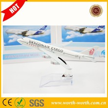 Best selling products Hongkong Airline B747 toy airline plane, airplane toy for wholesale