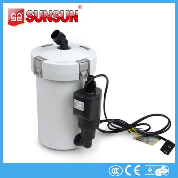 Sunsun ce gs silent carbon filter drum filter for koi pond for Pond carbon filter