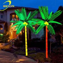 Best sell for 2015 LED fake palm tree