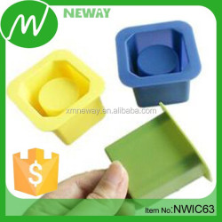 Colorful Cup Design Silicone Ice Cube Tray & Silicone Ice Tray