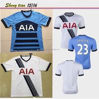 Thai quality soccer jersey 2015/2016 wholesale fc club team Spurs Jersey ERIKSEN soccer shirt cheap sportwear