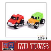 Promotional toy mini plastic toy Cheap pull back mini car toy wholesale