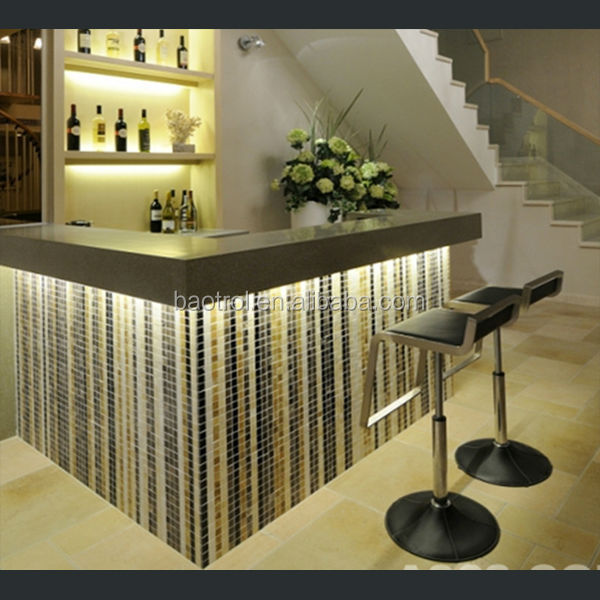 Western Style Bar Counters Design Mini Hotel Bar Counter