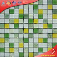 HXA005 pool tiles chinese mother pearl cracked glass mosaic tiles