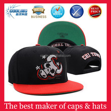 2015 new design brand snap back cap wholesale