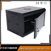 China 19inch 4u-15u hanging network small cabinet with glass doors