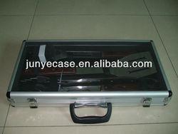 aluminum tool box with transparant window