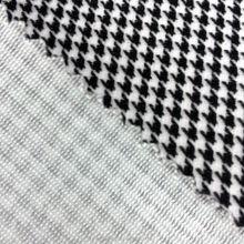 Plain yarn dyed Stripe Printed Velvet Fabric