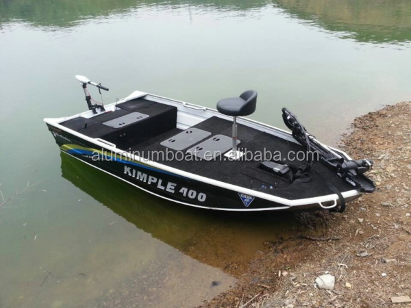 420 bass pro aluminum bass fishing boat view bass for Bass pro fishing boats