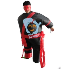 Supply Cosplay Inflatable Ninja Costume for Adult