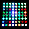 Dia.5mm dmx full color 8x8 rgb led dot matrix display module