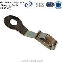 High precision brass battery contacts