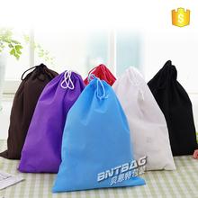 Cheap custom drawstring bag/drawstring shoe bag/nonwoven drawstring bag