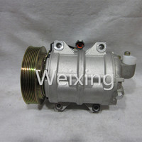 Auto Air Condtioning Compressor Pump DKS17CH Pulley 7PK for NISSAN URVAN ESTATE