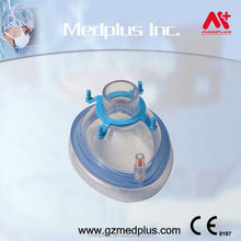 Medical PVC Inflatable Disposable Anesthesia Mask