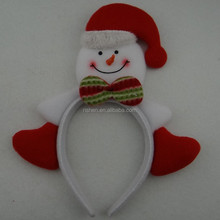 popular snowman head band christmas ornaments popular kids holiday hair ornament