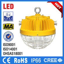 beam angle 220 degree high light efficiency 45w 60w explosion proof led flood light for the underground tunnel