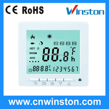 Room thermostat for floor heating
