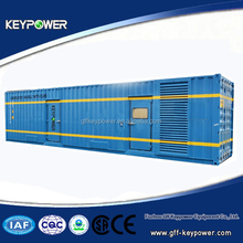 Powered by Mitsubishi, container genset, 50/60hz 765kva, silent open type, best quality, good price, ce iso certified, for sale