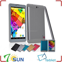 7 inch 3G Phone Call Tablet PC Android 4.2 MTK 8312 512MB 4GB Dual Core 1.2GHZ GSM WCDMA GPS Blutooth tablet 3g
